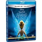 Blu-ray Tinker Bell - o Segredo das Fadas (Combo Blu-ray 3D + Blu-ray)