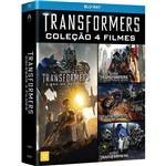 Blu-ray - Transformers Quadrilogia (4 Discos)