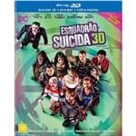 Blu- Ray Triplo 3D - Esquadrão Suicida