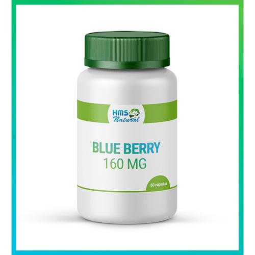 Blueberry 160mg Cápsulas Vegan 60 Cápsulas