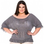 Blusa Ampla Fast And Chic Plus Size P