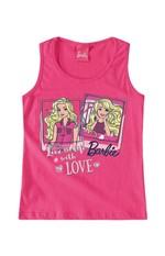 Blusa Barbie® Menina Malwee Kids Rosa Claro - 6