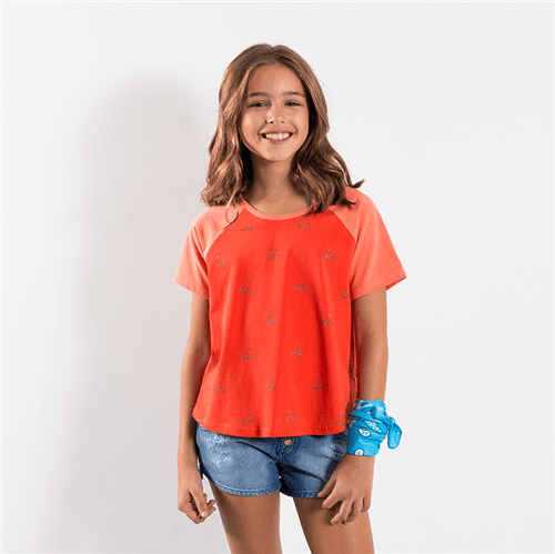 Blusa Camucats Tomate/16