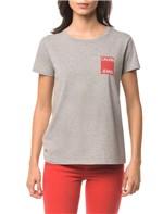 Blusa CKJ Fem Logo Calvin Jeans - Mescla - PP