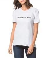 Blusa Ckj Fem Logo Embossesd - Branco 2 - PP