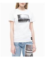 Blusa Ckj Fem M/C Andy Warhol Rodeo - Branco - P