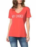 Blusa CKJ Fem My Choice - PP