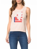 Blusa CKJ Fem SM Palm Tree - PP