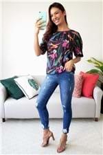 Calça Skinny Colcci Jeans Indigo Karen - Azul