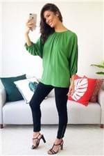 Blusa Colcci Estampada Shock Gre - Verde