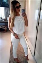 Blusa Colcci Rule Comfort - Off White