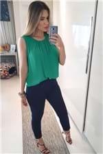Blusa Colcci Rule Comfort - Verde