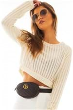 Blusa Cropped de Linha BL4227 - Kam Bess