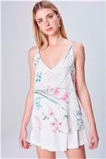 Blusa de Alça com Estampa Floral