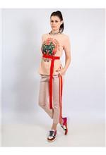 Blusa de Malha com Fenda Silk Active From Yourself - P