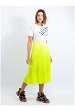 Blusa de Malha com Silk e Bordado Blusa de Malha com Silk Fashion New Mood e Bordado M