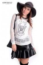 Blusa de Renda BL2247 - Kam Bess