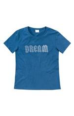 Blusa Dream Aplique Enfim Azul Claro - G