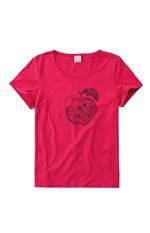 Blusa Estampa Frontal Malwee Rosa Escuro - M
