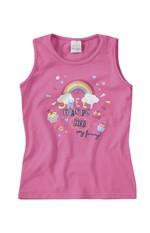 Blusa Estampada Menina Malwee Kids Rosa Claro - 1