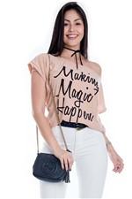 Blusa Feminina de Lurex Making Magic BL3315 - Kam Bess