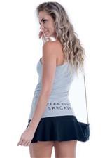 Blusa Feminina Moletinho de um Ombro só BL3461 - Kam Bess