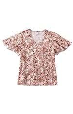 Blusa Floral Malwee Branco - M