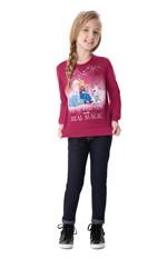 Blusa Frozen® Menina Malwee Kids Rosa Escuro - 1