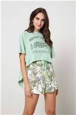 Blusa Harmony Couture Verde Montanha - P