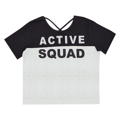 Blusa Juvenil Abrange Way Active Squad Mescla 12