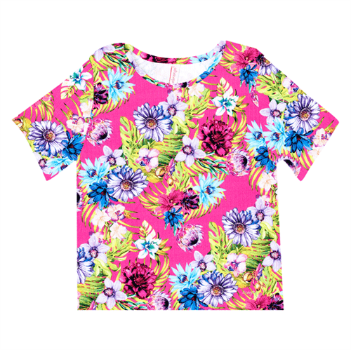 Blusa Juvenil Abrange Way Tropical Pink 12