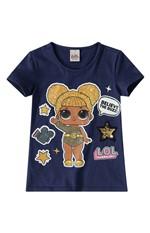 Blusa L.O.L.® Paetê Reversível Menina Malwee Kids Azul Escuro - 8