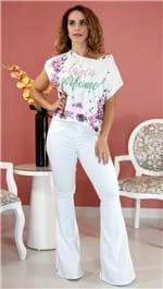 Blusa Lança Perfume Descolada Floral PV20 526TS000017