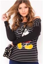 Blusa Listrada Mickey BL3654 - Kam Bess