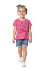 Blusa Mullet Infantil Malwee Kids Rosa - 4