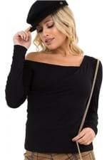 Blusa Ombro a Mostra Assimétrica BL4077 - Kam Bess