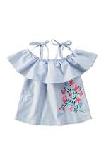 Blusa Ombro a Ombro Infantil Malwee Kids Azul - 4