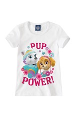 Blusa Patrulha Canina® Menina Malwee Kids Branco - 4