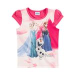 Blusa Pink Frozen MC Blusa Pink Frozen - 10