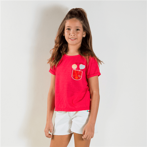 Blusa Pop Kiss Cereja/14