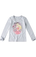 Blusa Princesas da Disney® Menina Malwee Kids Cinza - 2