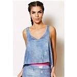 Blusa Regata Jeans - Colcci Fitness