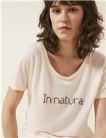 Blusa Silk In Natura ROSA / P