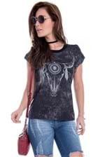 Blusa Tie Dye com Recortes Nas Costas BL3089 - M