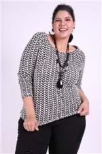 Blusa Tricot Plus Size M