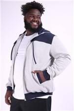 Blusão Masculino com Bolso Plus Size Mescla P