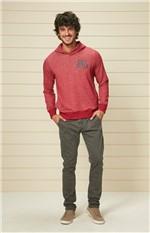 Blusão Slim Masculino Adulto Enfim Vermelho - G