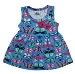 Blusas Bebê Feminina Regata Azul Celeste-1