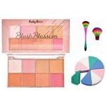 Blush Blossom Ruby Rose + Pincel para Blush + Esponja para Cremosos