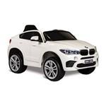 BMW X6M Branca Elétrica 6V - Bandeirante
